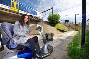 rolstoeler voor station
