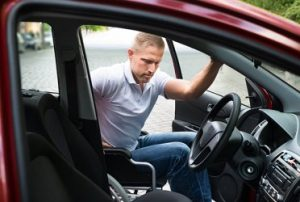 gehandicapte bestuurder