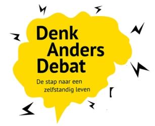 logo Denk Anders Debat
