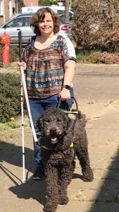 Marjolein met hond